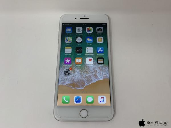 Купить б/у  Apple iPhone 7 Plus Silver 128 Gb