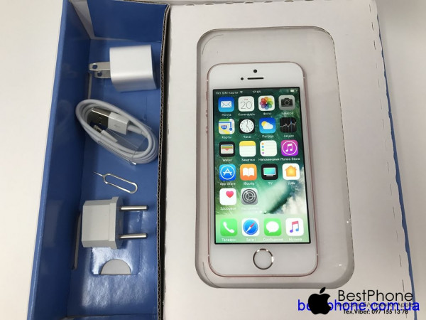 Купить б/у  Apple iPhone SE 16Gb Rose Gold Cупер!
