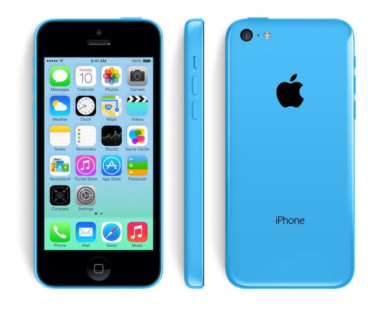 дисплей и боковые клавиши Apple iPhone 5c
